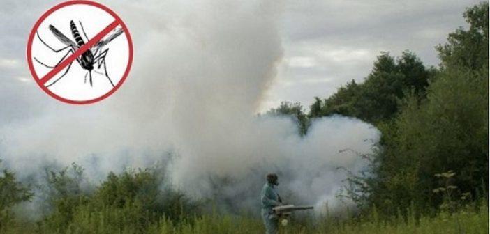 Akcija zaprašivanja komaraca