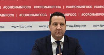 Prvi smrtni slučaj od koronavirusa u CG: Preminuo muškarac (65)