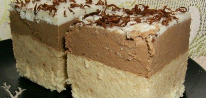 Pijesak torta bez margarina i pečenja