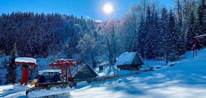 Startovala sezona u ski centru Lokve