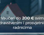 ZDRAVSTVENIM I PROSVJETNIM RADNICIMA VAUČERI OD 20. MAJA: 200 EURA ZA ODMOR